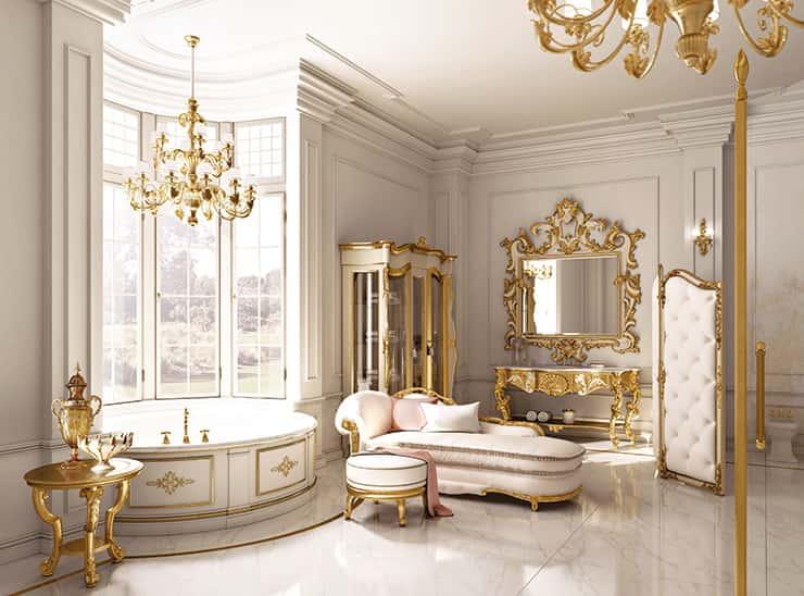 Andrea fanfani cucine classiche di lusso collezione opera for Arredamento classico lusso