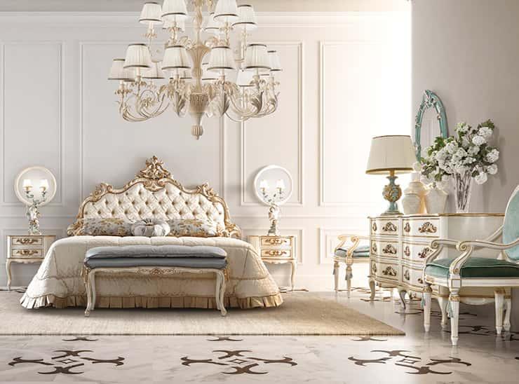 Arredamento classico zona notte in stile fiorentino for Cataloghi arredamento interni