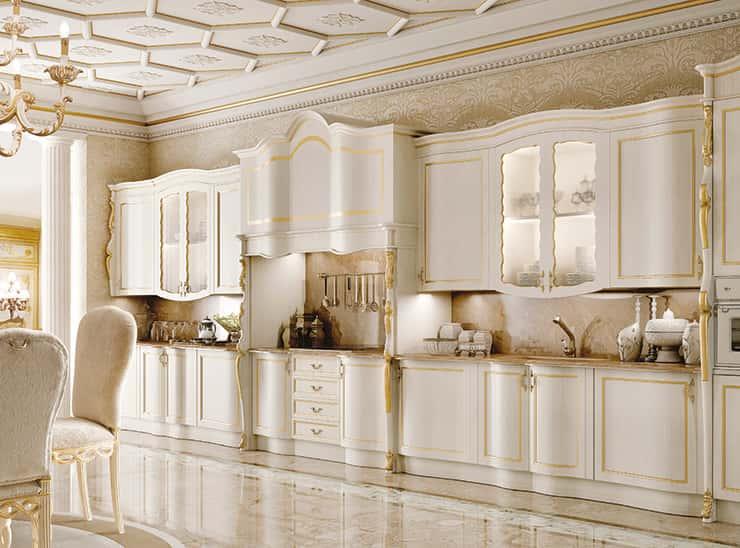 Cucine Di Lusso Classiche : Andrea fanfani cucine classiche di lusso collezione opera