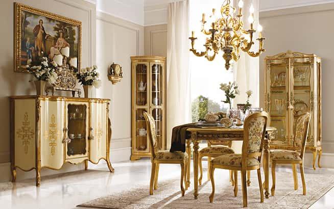 Arredamenti di lusso andrea fanfani for Arredamento classico lusso