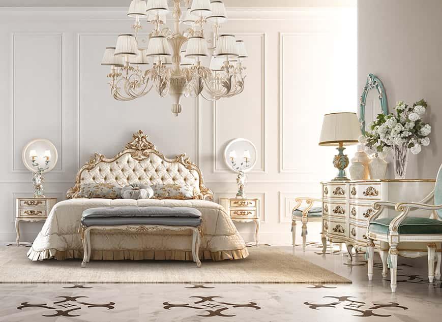 Camere Da Letto In Stile Barocco. Letti Stile Barocco Fabulous Letto ...