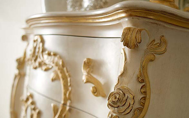 Com decorato a mano andrea fanfani for Produzione mobili classici