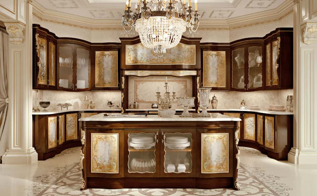 cucine classiche decorate