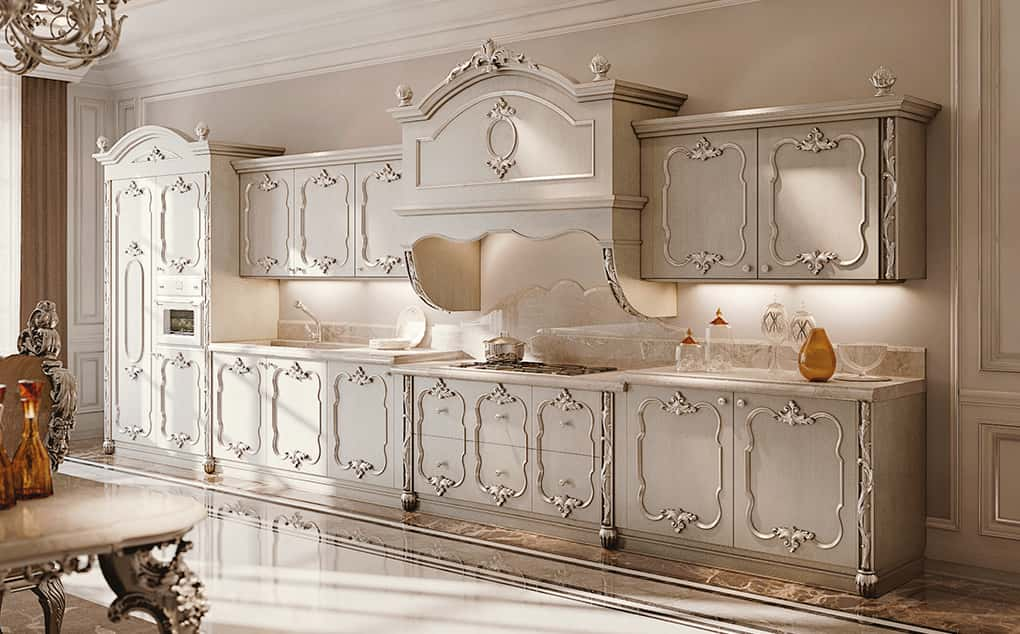 Cucine classsiche decorate di Andrea Fanfani