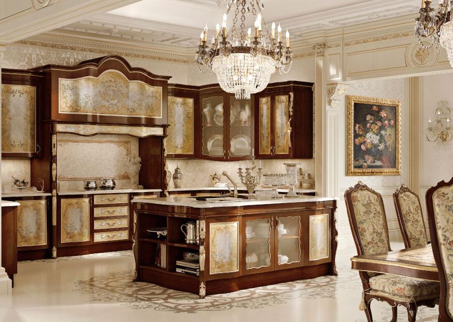 Cucine di lusso di andrea fanfani for Arredamento veneziano