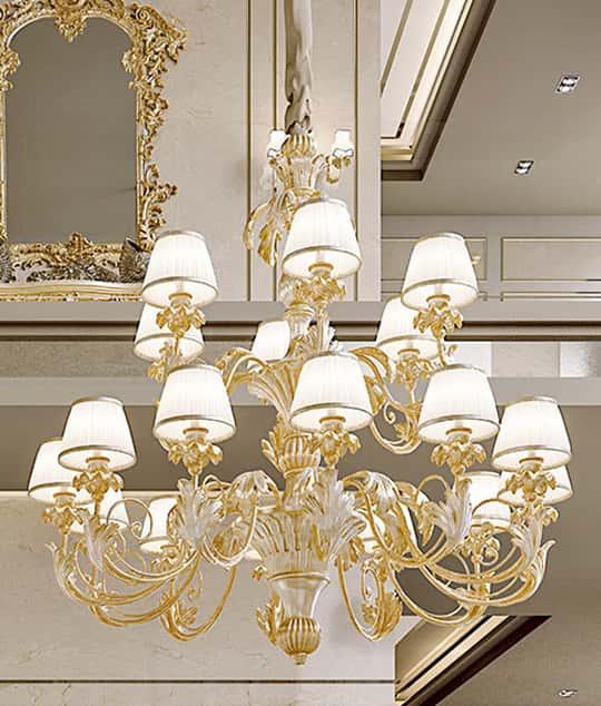 Lampadari barocco - Andrea Fanfani