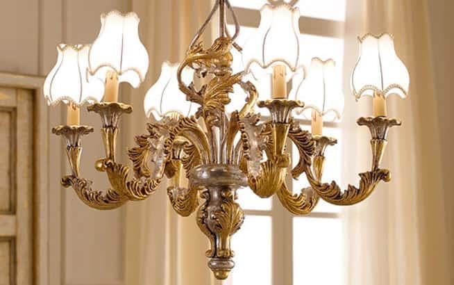 Lampadari in stile barocco