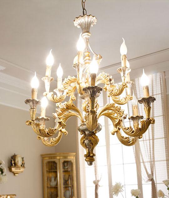 lampadari via veneto : 929/12 Lampadario classico