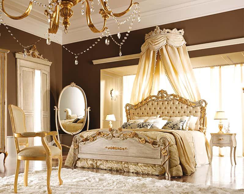 Camere da letto classiche con baldacchino le ultime idee for Letti fantastici