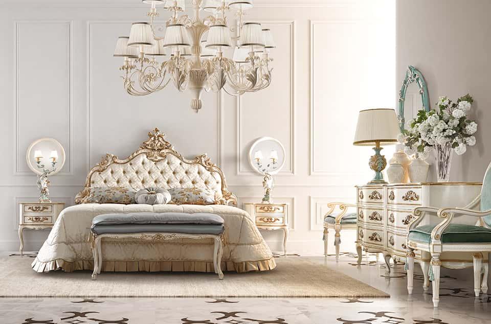 Camera da letto stile barocco moderno antico e moderno gli errori