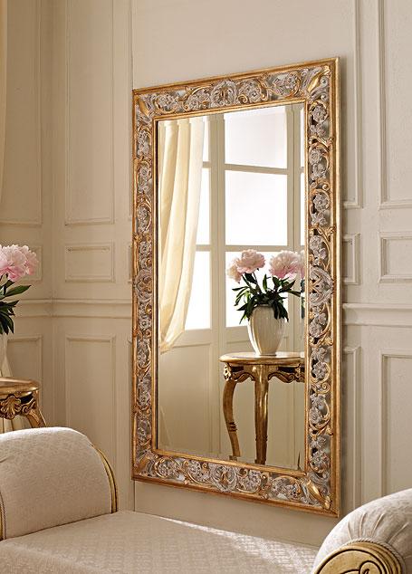 Specchiere intagliate a mano andrea fanfani - Specchi classici ...